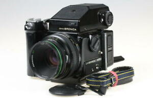 ZENZA BRONICA ETRSi mit Zenzanon-PE 75mm f/2,8 II SET - SNr: 7319550