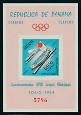 "PANAMA 1964, block 17-18 **/MNH, ""olympics Tokyo"", miniatur sheets! Very fine"