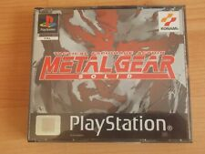 METAL GEAR SOLID PLAYSTATION ***DISC 1 MISSING*** PSONE PS1 PAL