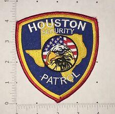 Houston Security Patrol Patch - Texas