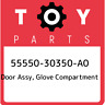 55550-30350-A0 Toyota Door assy, glove compartment 5555030350A0, New Genuine OEM