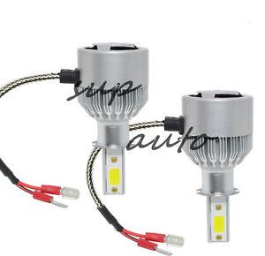 H3 6000K Super Bright White 8000LM CREE LED Headlight Bulb Kit High Low Beam DRL
