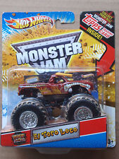 Hot Wheels Monster Jam EL TORO LOCO Topps Trading Card Series
