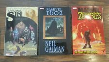 Set of 3 Marvel TPBs Zombies: Complete Collection Volume 1, 1602 & Original Sin