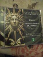 Audio CD. Misc. Lully operatic scenes. Les Arts Florissants.