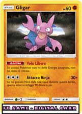 POKEMON GLIGAR - REVERSE - Pokemon TCG Online - DIGITAL Game Card