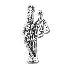 Sterling Silver 925 Lady Justice Charm Bracelet Pendant Jewelry Online Jewellery