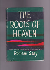 THE ROOTS OF HEAVEN.ROMAN GARY.SIGNED IST .HB/DJ.