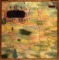 Map Antique Bonsignori Gold Nubia Historic Large Replica Canvas Art Print