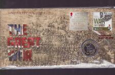 2014 Great War Australia UK £2 Coin Stamp War Declared 1914-1918 WWI Albany WA