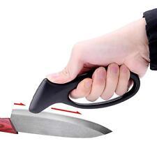 Afilador De Cuchillos Chef Cocina de tamaño de bolsillo cuchillo Piedra Afilar Camping Caza