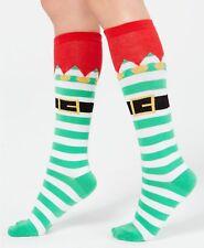 b725d7b968d Christmas Striped Knee-High Socks for Women for sale