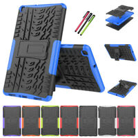 Shockproof Hard Armor Case Stand Cover For Samsung Galaxy Tab A 8.0 SM-T290 T295