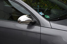 VW Passat 3C B6 Saloon Estate 2005-2012 Chrome Mirror Cover 2Pcs S.Steel