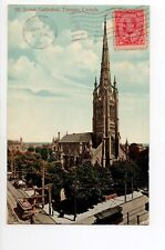 CANADA carte postale ancienne TORONTO 17 st james cathedral
