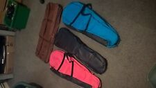 Lot of 7 Musical Instrument Soft Cases Violin,Keyboard, Drums TKL? NOS £35 tags