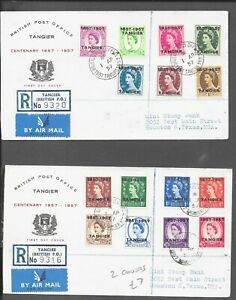 TANGIER COVERS x 2 1.4.57 TO 1/-