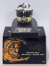 Minichamps 1/8 Scale 397 060046 - AGV Helmet Moto GP 2006 V. Rossi