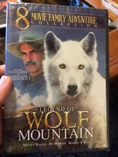 NIP NEW 8 Movie Family Adventure Collection The Legend of Wolf Mountain