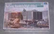 Trumpeter 1:35 #1517  Railway Gondola (High Sides)  New