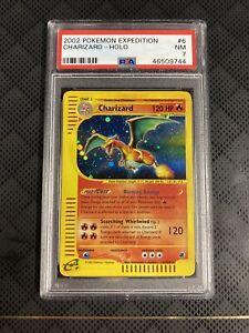 2002 Pokemon Expedition Charizard Holo 6/165 PSA 7 NM
