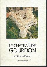 Le chateau de Gourdon.  X001