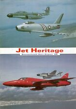 Opuscolo JET Heritage, British Fighter Aircraft Collection, RARO, VERY RARE!