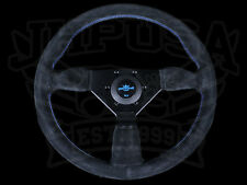 PERSONAL NEO GRINTA STEERING WHEEL BLUE STITCH BLACK SUEDE 350MM JHP EXCLUSIVE