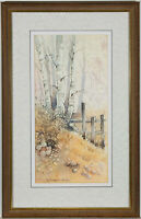 H. Royston Hudson - 20th Century Watercolour, Winter Woodland