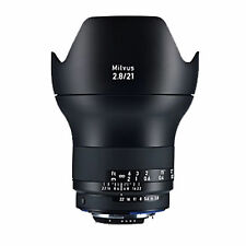 Zeiss Milvus 21mm f/2.8 ZF.2 Lens (for Nikon) *NEW*