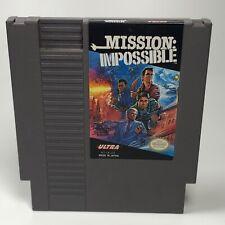 Mission Impossible NES Nintendo