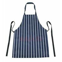 BUTCHER STRIPE APRON Cooking Baking Bib Catering Chef Cooks BBQ STRIPED 90X67cm