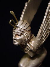 "Art Deco  HOOD ORNAMENT  by M. Bonnot, French 1920's        ""Egyptian Ailes"""