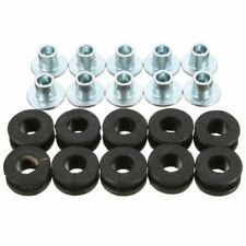 10pcs Motorcycle Rubber Grommets For Honda For Yamaha For Suzuki For Kawasa W3N6