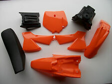 New KTM SX50 Junior/Senior Orange Plastics Kit Mudguard Tank Seat Sx 50 JR SR