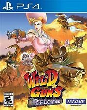 Wild Guns: Reloaded (Sony PlayStation 4, 2016)