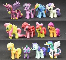 12pcs My Little Pony Action Figure Cake Topper Toy Decor