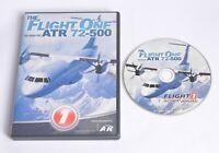 Flight One ATR 72-500 Pc Add-On Flight Simulator Sim X & 2004 FSX FS2004