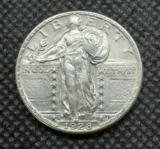 1928-D Standing Liberty Quarter   CHOICE BRILLIANT UNCIRCULATED
