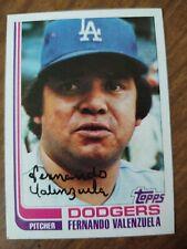 1982 Topps Fernando Valenzuela Los Angeles Dodgers #510 Baseball Card