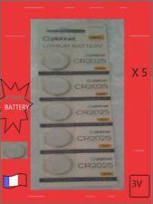 PILE LITHIUM BATTERY CR2025 PLATINET 5 pile inclus 3V