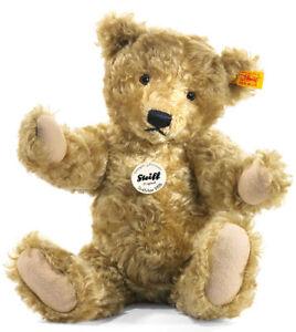 Steiff 1920 Classic Teddy Bear - light brown jointed mohair - 25cm - 000713