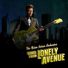 BRIAN SETZER - SONGS FROM LONELY AVENUE - CD NEW SEALED 2009 DIGIPACK