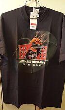 NIKE - JORDAN T. SHIRT - MICHAEL JORDAN'S THE RESTAURANT - NUOVA- TG. L