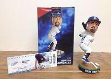 Adrian Gonzalez 2013 LA Dodgers Bobblehead SGA ~ With HARD GAME TICKET