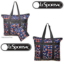 LeSportsac Blissful Vision Large Travel Tote + Cosmetic Bag NWT Free Ship D959