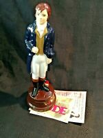 "Robert ""Robbie"" Burns Auld Lang Syne Limited Edition Figure by Wade + CoA"