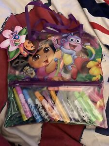 Dor The Explorer Travel Pack Set 3+ Years Brand New With Bag & Markers