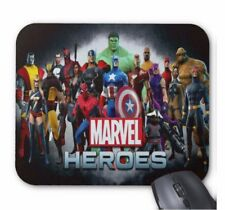 Spiderman Super Heroes Marvel Computer Mouse Mat Pad Rectangular 5mm Very Thick