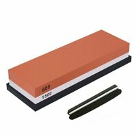 Whetstone,Double-Sided Knife ening Stone Set Grit 600/1500 Knife ener Comb A2E9